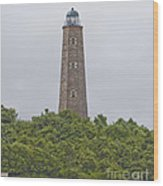 Cape Henry Light - Old Wood Print