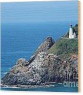 Cape Mears Lighthouse Wood Print