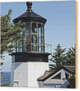 Cape Mears Or Lighthouse 1 Wood Print