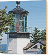 Cape Mears Or Lighthouse 2 Wood Print