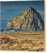 Cape Mendocino Wood Print