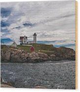 Cape Neddick Light Station Wood Print