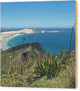Cape Reinga - North Island Wood Print