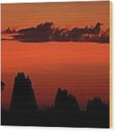 Cape York Sunset Wood Print