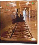 Capital Halls Wood Print