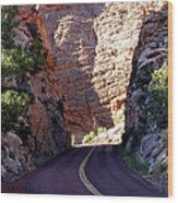Capitol Reef National Park Road Wood Print