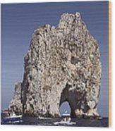 Capri Arch Wood Print