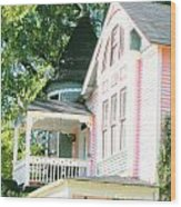 Captain Harris House Memphis Wood Print