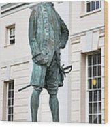 Captain James Cook, British Explorer Wood Print