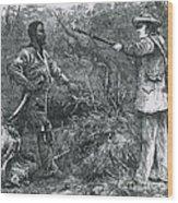 Capture Of Nat Turner, American Rebel Wood Print