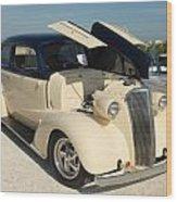 Car 108 Wood Print
