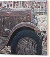 Car Museum Wood Print