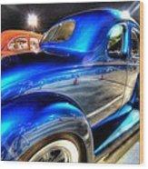 Car Show 2 Wood Print