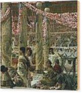 Caracalla And Geta Wood Print