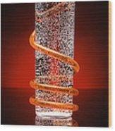 Carbonated Drink Wood Print by Victor De Schwanberg