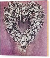Cardia Wood Print