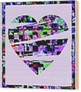 Cardiac Wood Print
