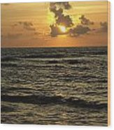 Caribbean Sunrise Wood Print