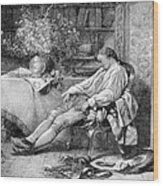 Carl Linnaeus, Swedish Botanist Wood Print