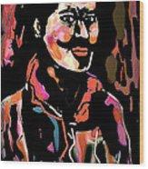 Carlos Wood Print