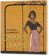 Carmen Jones, Dorothy Dandridge, 1954 Wood Print