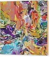 Carnival Abstract 082512 Wood Print