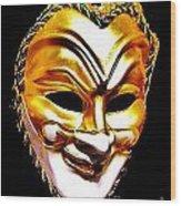 Carnival Mask 2 Wood Print
