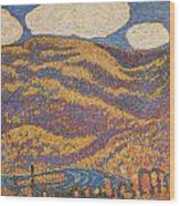 Carnival Of Autumn Wood Print by Marsden Hartley
