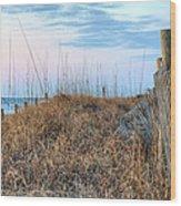 Carolina Pastels Wood Print by JC Findley