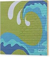 Carolina Wave Wood Print