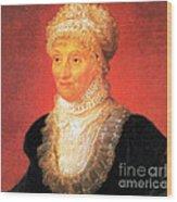 Caroline Herschel, German-british Wood Print