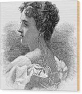 Caroline Lavinia Harrison Wood Print by Granger
