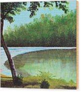Carol's Retreat Wood Print
