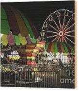 Carousel Colors Wood Print