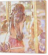 Carousel Dream Wood Print