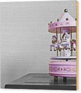 Carousel Toy  Wood Print