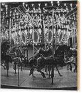 Carousel Work Number One Wood Print