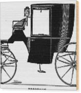 Carriage: Brougham Wood Print