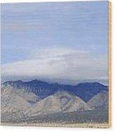Carrizo Peak Lenticular Wood Print