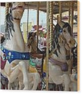 Carrousel 84 Wood Print