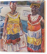 Cartegna Ladies Wood Print by Joyce Kanyuk