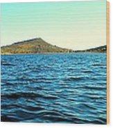 Carter Lake Wood Print