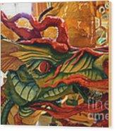 Carved Dragon Wood Print