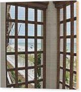 Casa Del Laplaya Wood Print