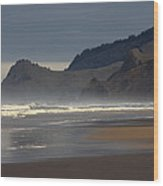 Cascade Head Wood Print