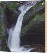 Cascading Angel Hair Wood Print