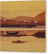 Cashel, Achill Island, County Mayo Wood Print