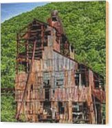 Cass Boiler House Wood Print