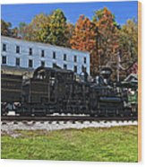 Cass Railway Wv Painted Wood Print
