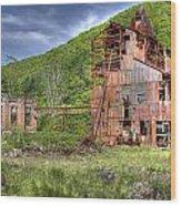 Cass Sawmill Wood Print
